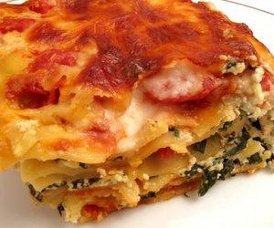 Spinat Feta Lasagne