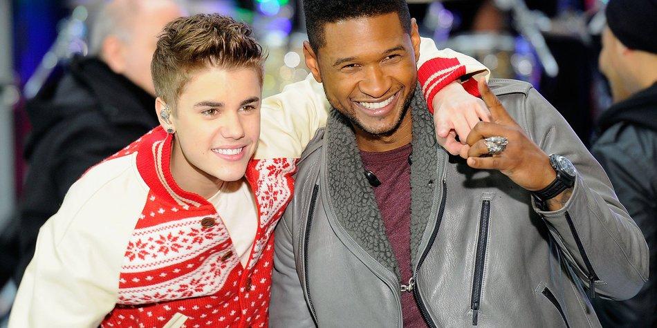 Usher: Justin Bieber ist doch noch ein Teenager