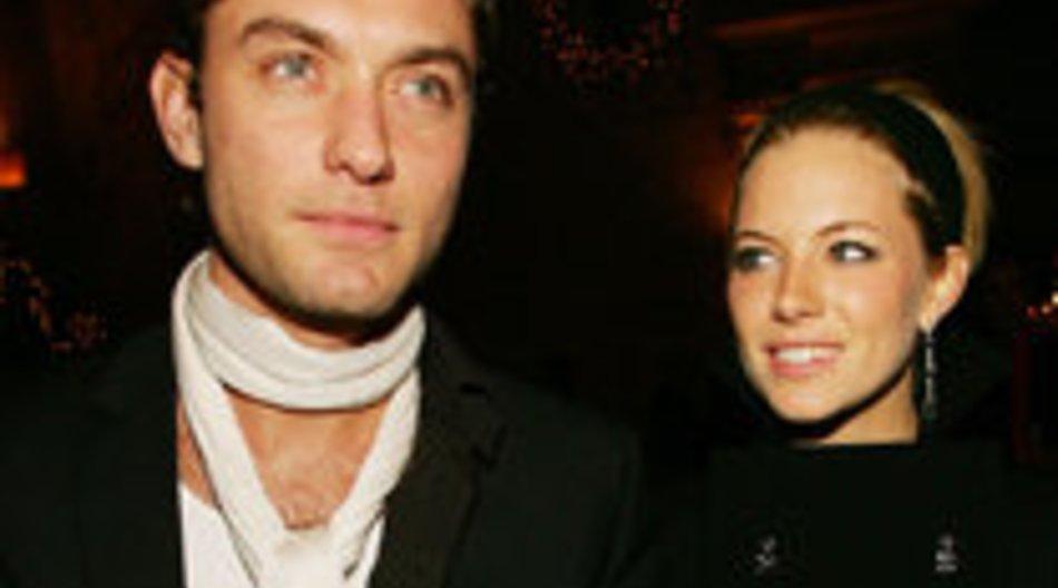 Jude Law und Sienna Miller: heimliche Treffen