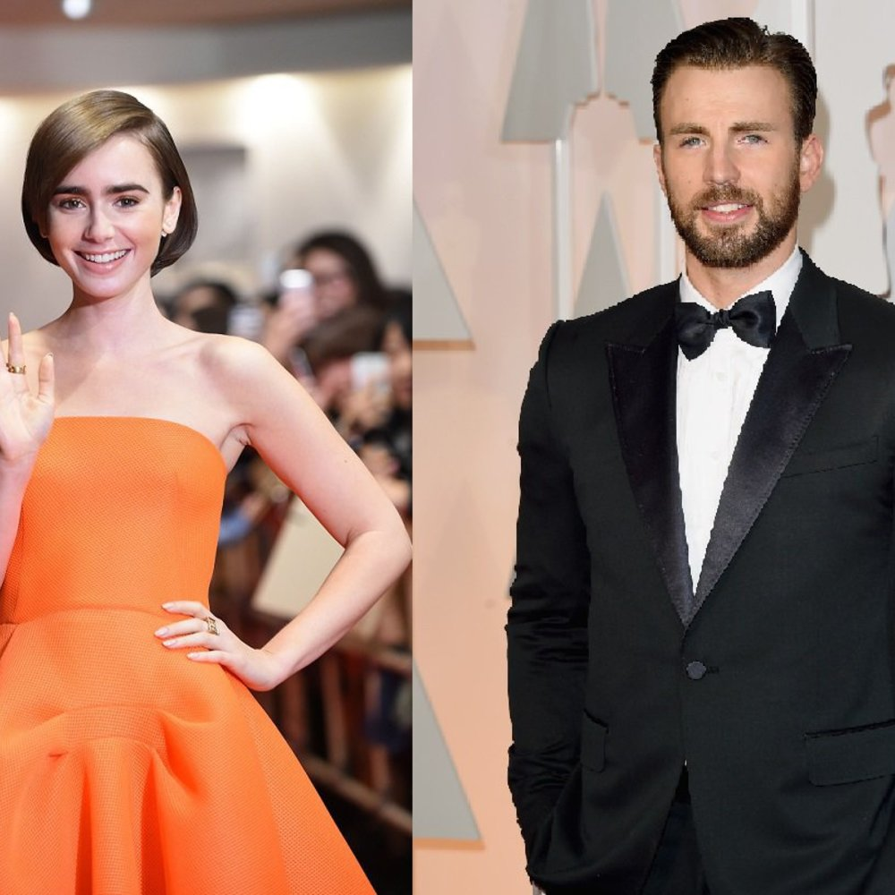 Chris Evans und Lily Collins sind das neue Hollywood-Couple