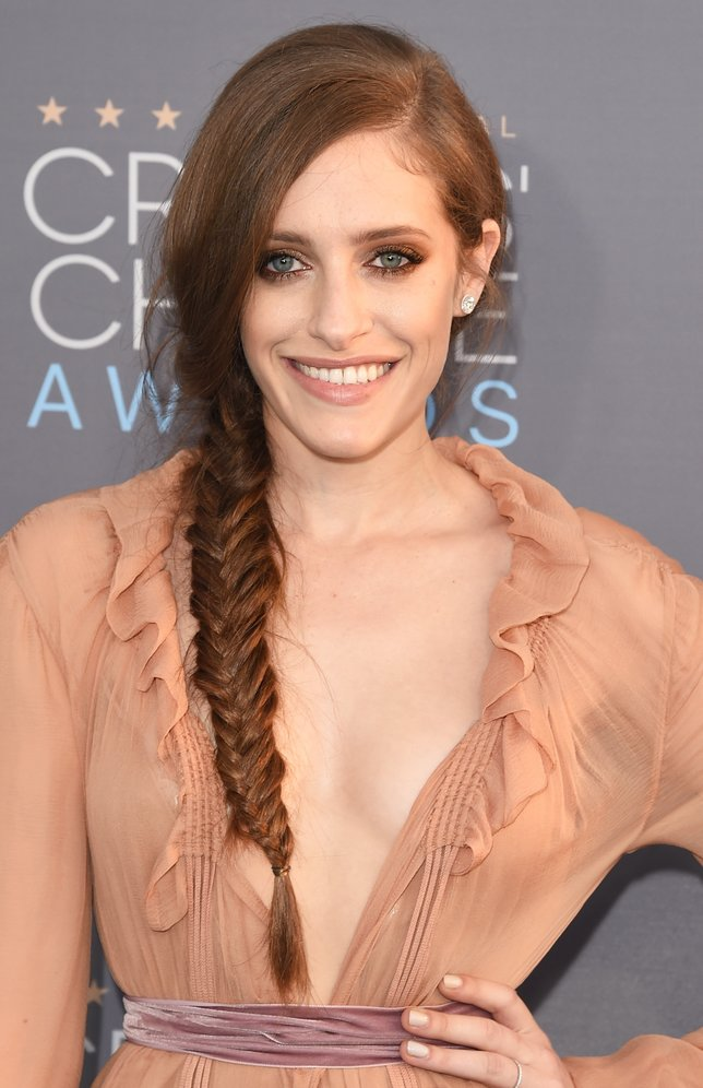 SANTA MONICA, CA - JANUARY 17:  Actress Carly Chaikin attends the 21st Annual Critics' Choice Awards at Barker Hangar on January 17, 2016 in Santa Monica, California.  (Photo by Jason Merritt/Getty Images)