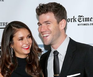 "NEW YORK, NY - OCTOBER 04: Nina Dobrev and Austin Stowell attend the 53rd New York Film Festival - ""Bridge Of Spies"" - Red Carpet Center on October 4, 2015 in New York City. (Photo by Rob Kim/Getty Images)"