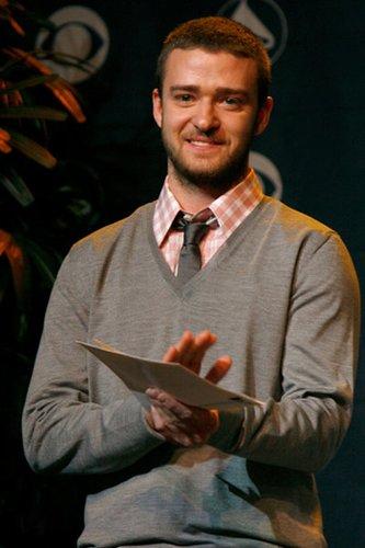 Justin Timberlake wurde mit dem Grammy ausgezeichnet