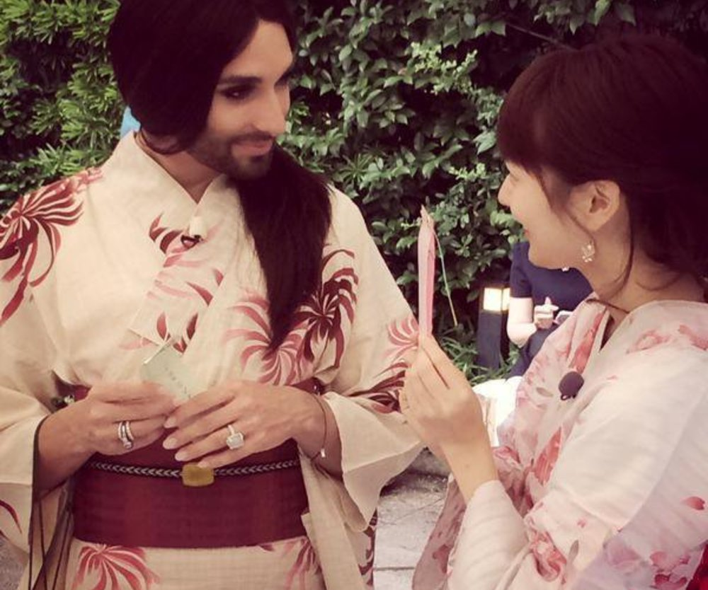 Conchita Wurst begeistert Japan