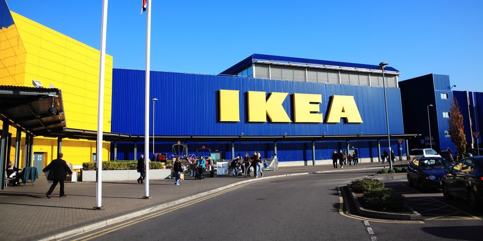 London, UK – November 19, 2011: Ikea furniture retail store in Brent Park Wembley