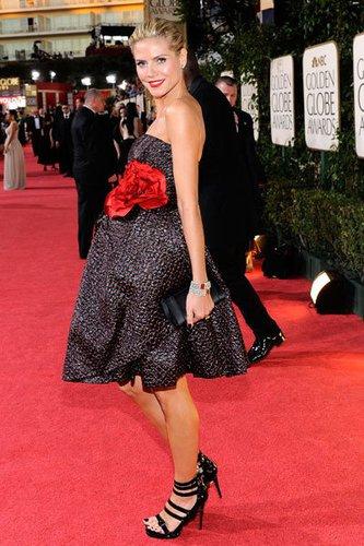 Heidi Klum auf dem roten Teppich.