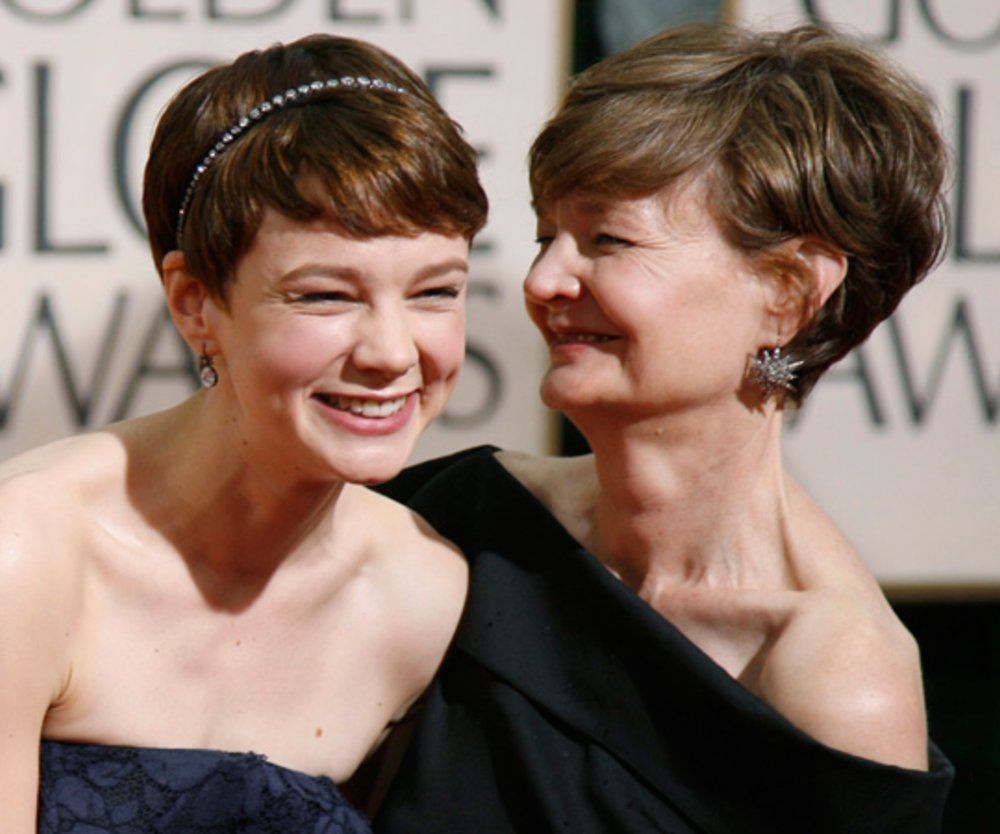 Carey Mulligan mit ihrer Mutter Nano bei den 67. Golden Globes am 17. Januar 2010