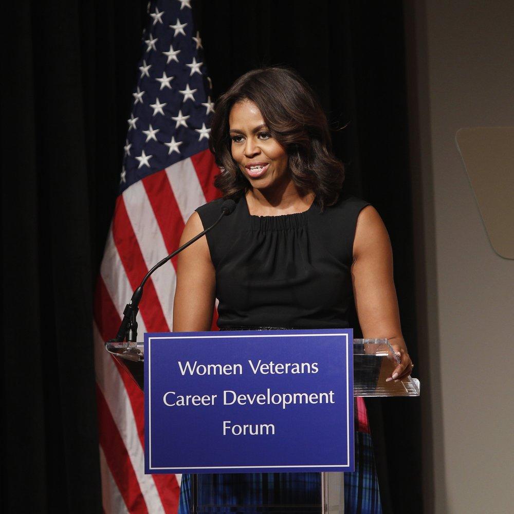 Michelle Obama setzt sich für Soldatenfamilien ein