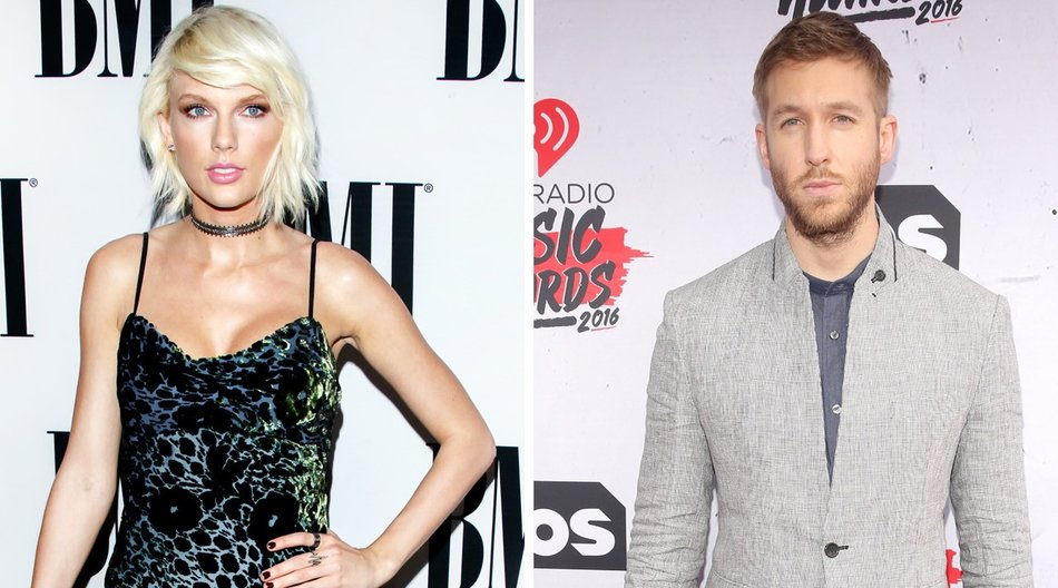 Taylor Swift und Calvin Harris_Mark Davis_Getty Images_Jesse Grant_Getty Images for iHeartRadio