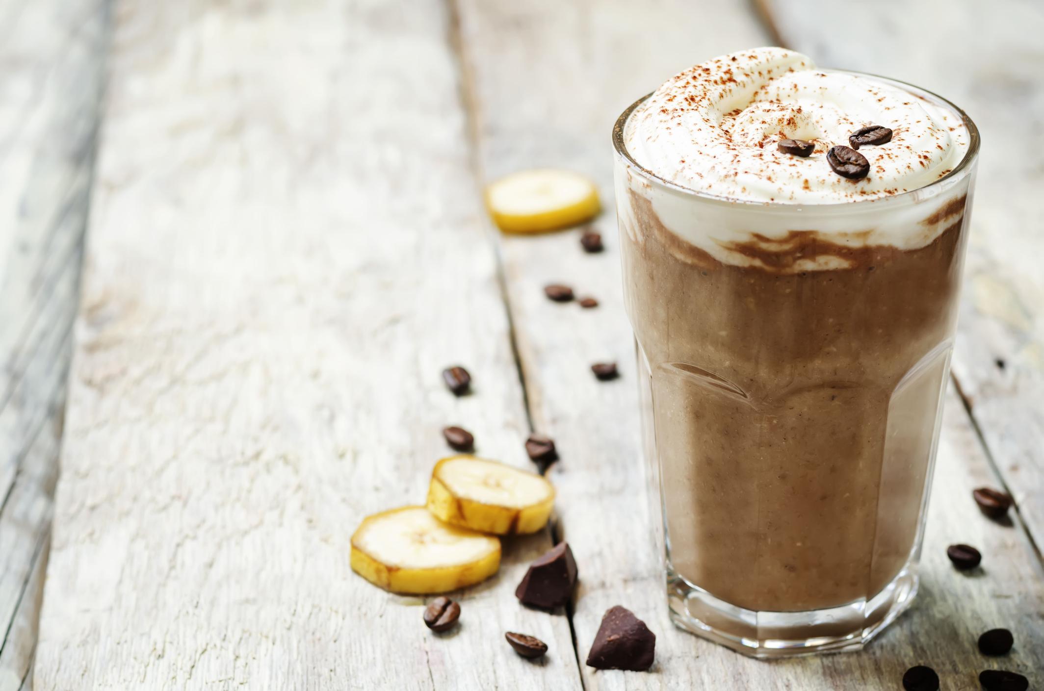 Warmer Kaffee Smoothie