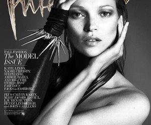 """Kate Moss: Gemeinsam mit sechs Modelikonen für das """"Interview""""-Magazin"""