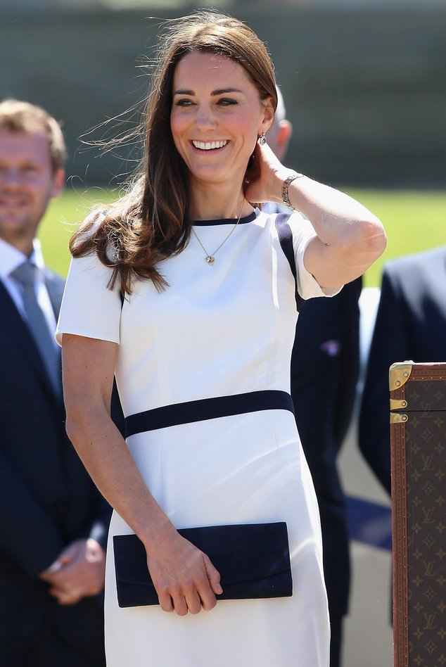 Kate Middleton beim Besuch des America`s Cup-Teams