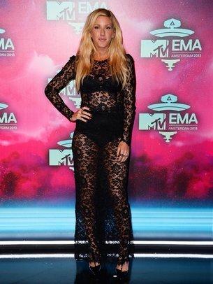 Ellie Goulding liebt es durchsichtig