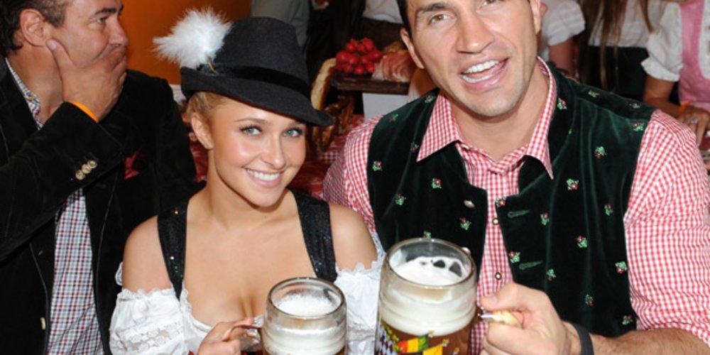 Wladimir Klitschko und seine Freundin Hayden Panettiere