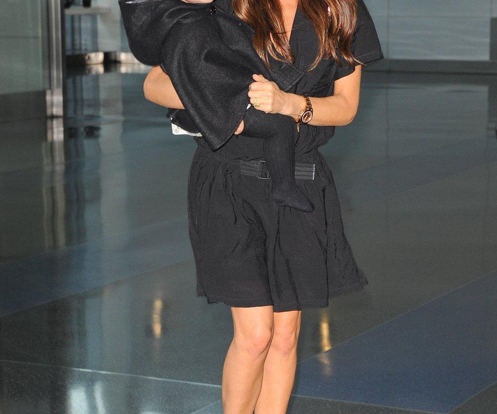 Victoria Beckham: Ist Töchterchen Harper krank?