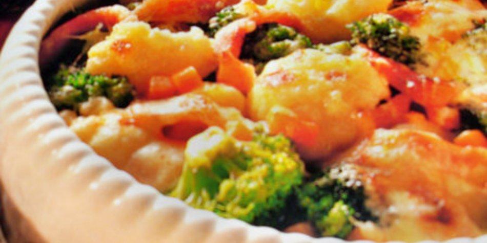 Blumenkohl-Brokkoli-Gemüse