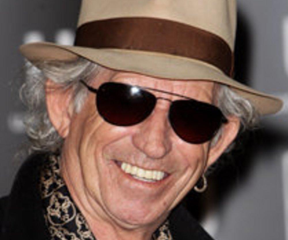 Keith Richards besitzt über 3000 Gitarren