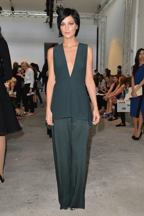 Leigh Lezark bei der Milan Fashion Week