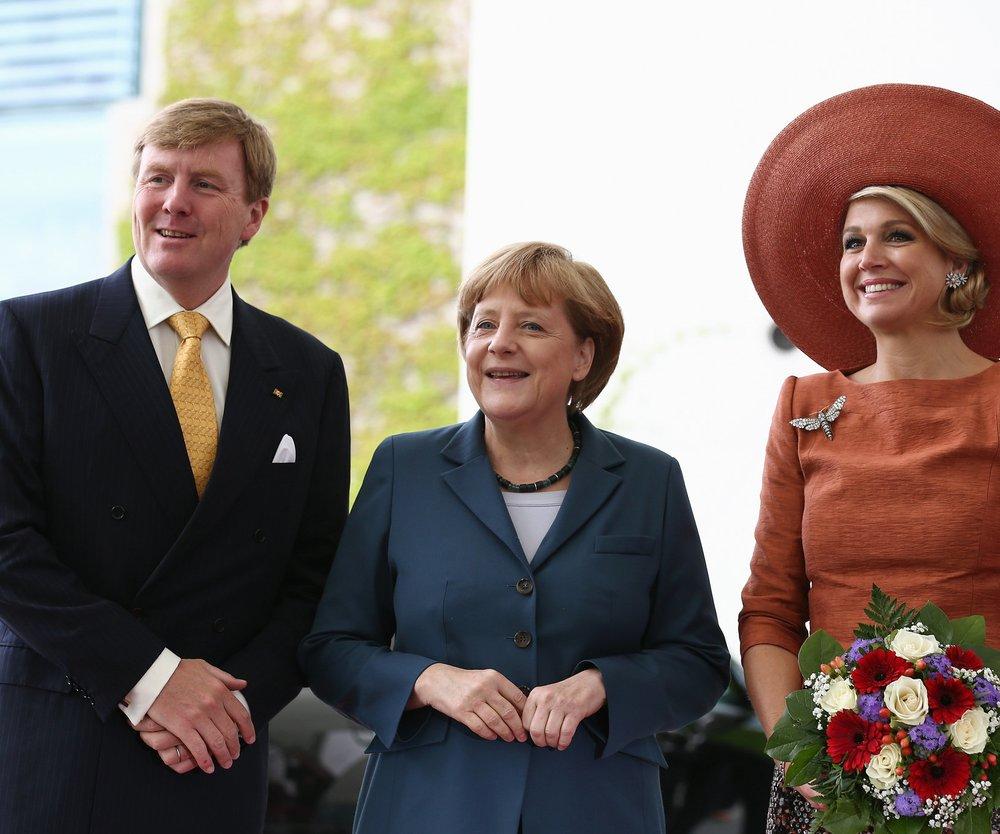 Maxima verzaubert Deutschland