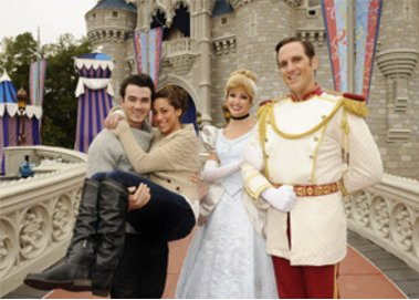 Kevin Jonas - Disney World