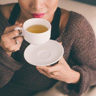 Abnehmen mit grünem Tee