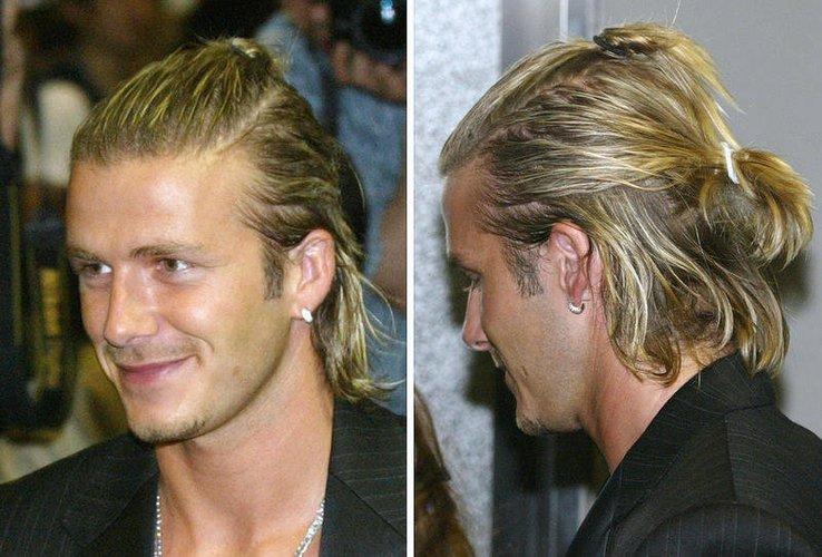 David Beckham auf Promotour im Jahr 2003