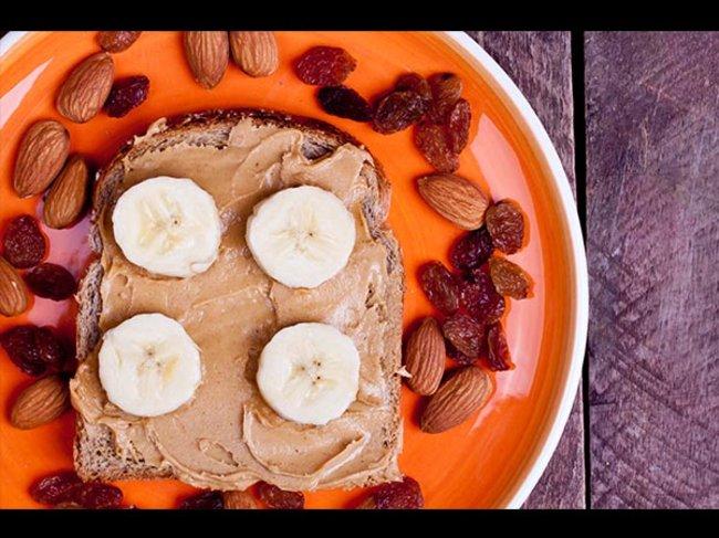 Mandelbutter-Brot