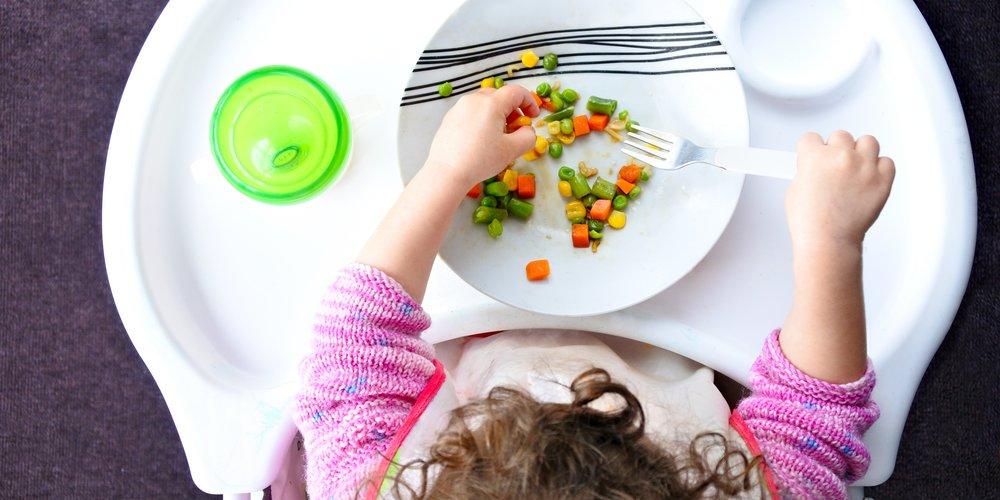 Kinder sollen ganz vegan erzogen werden.