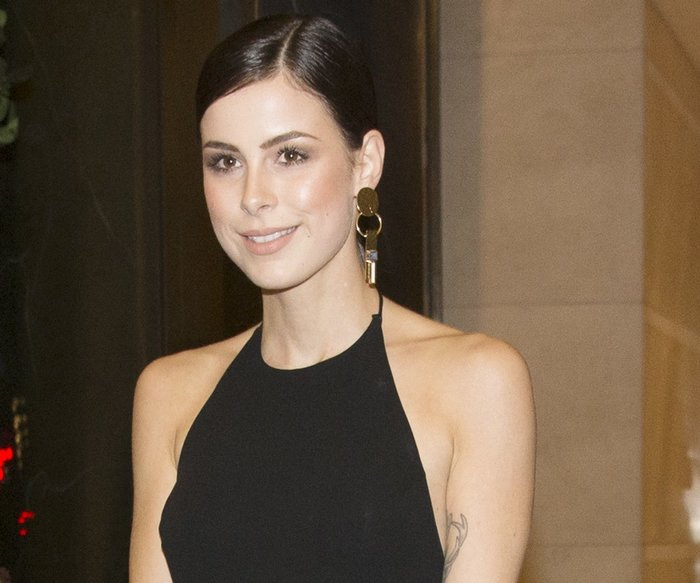 BERLIN, GERMANY - FEBRUARY 13: L'Oreal ambassador Lena Meyer-Landrut attends the 'Things to Come' (L'avenir) premiere during the 66th Berlinale International Film Festival Berlin at Berlinale Palace on February 13, 2016 in Berlin, Germany. (Photo by Andreas Rentz/Getty Images for L'Oreal)