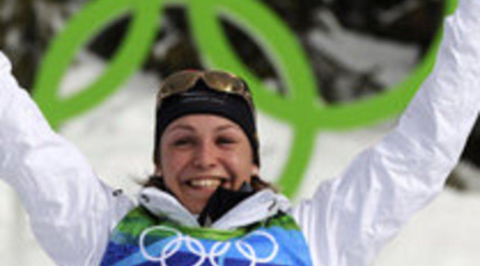 Magdalena Neuner holt Gold für Deutschland
