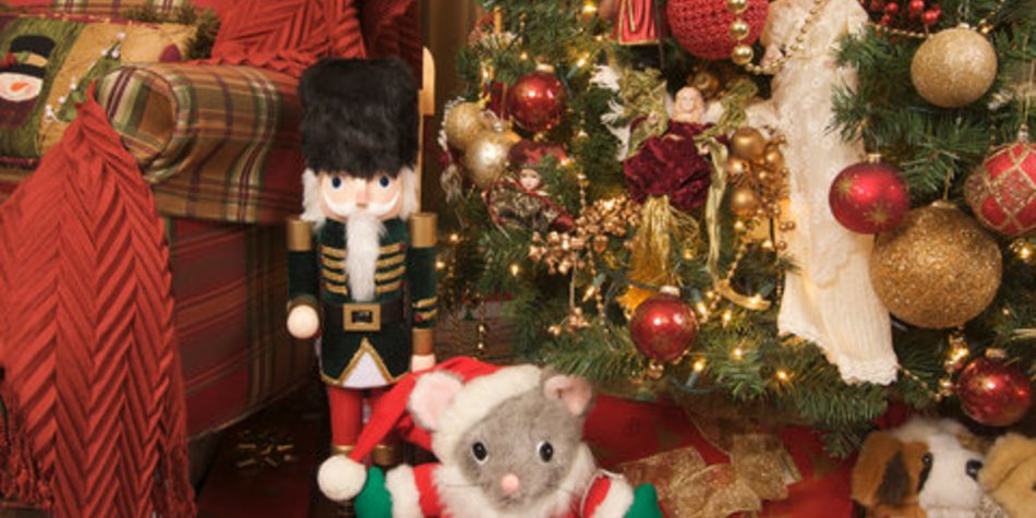 Weihnachtliche Dekoration made in Germany