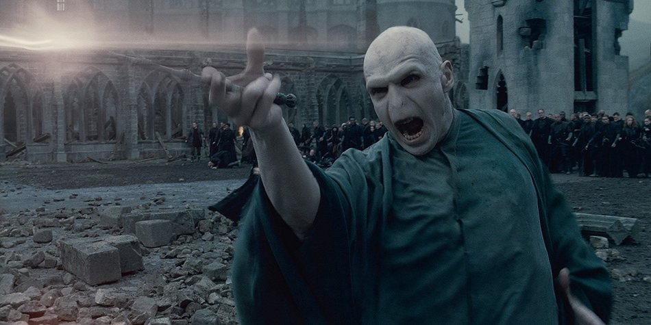 Lord Voldemort in Action