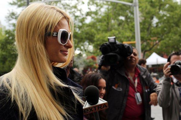 Paris Hilton hat auch eine soziale Ader.