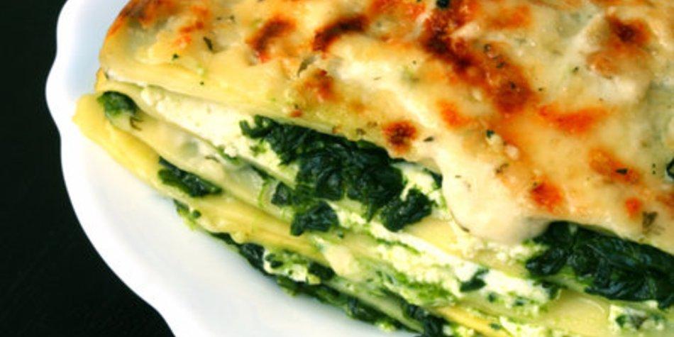 Spinat Ricotta Lasagne