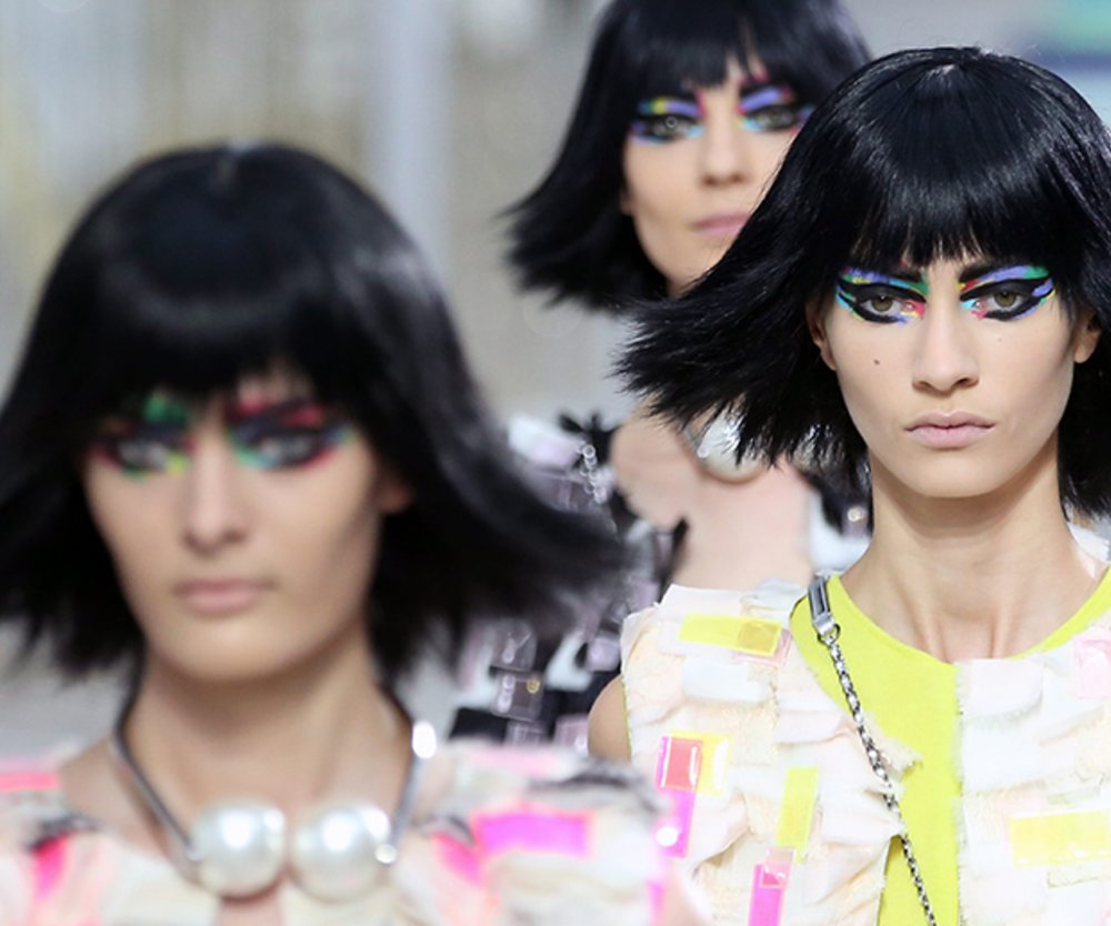 Sommer Trend-Make-up