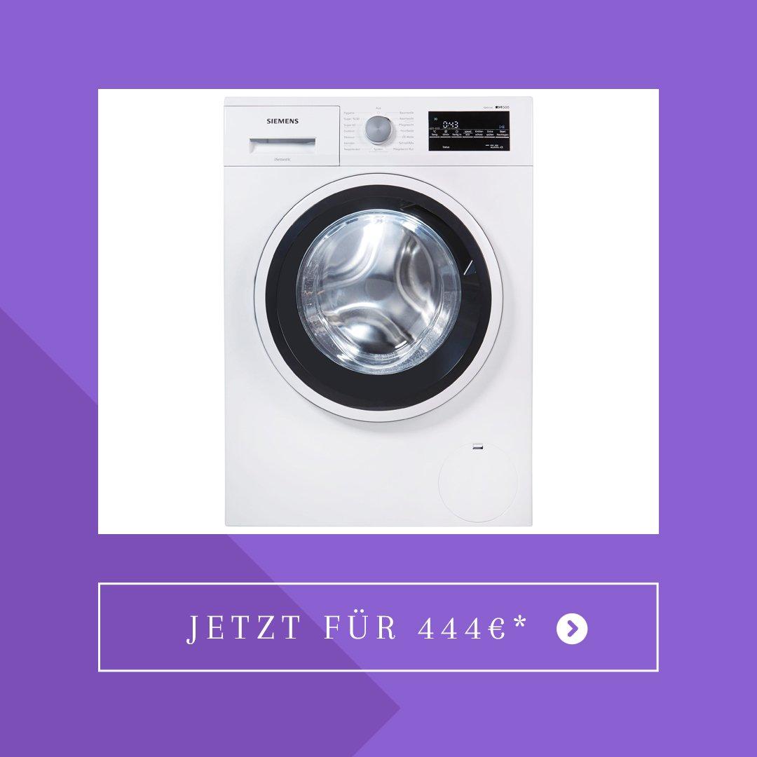 SIEMENS Waschmaschine iQ500 WM14T421