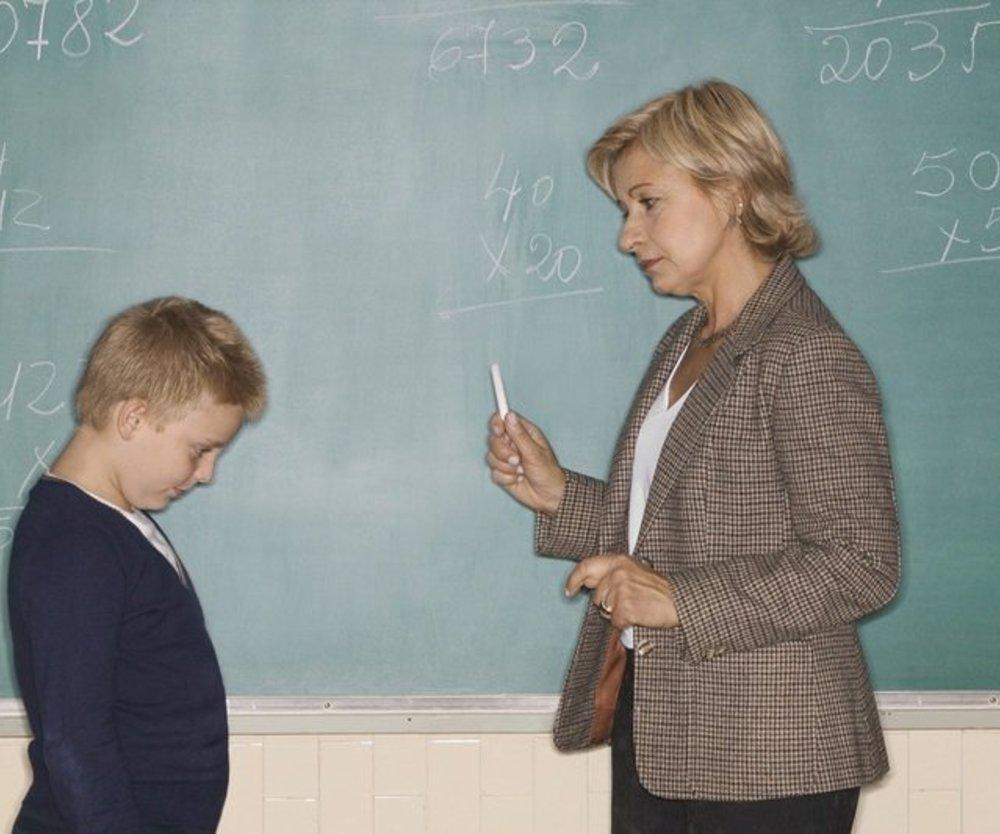 Probleme mit dem Lehrer