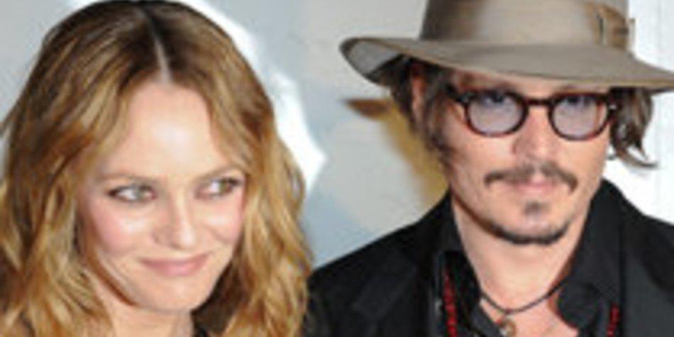 Johnny Depp und Vanessa Paradis in Cannes