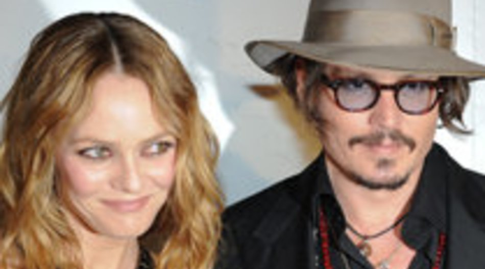 Johnny Depp und Vanessa Paradis in Cannes