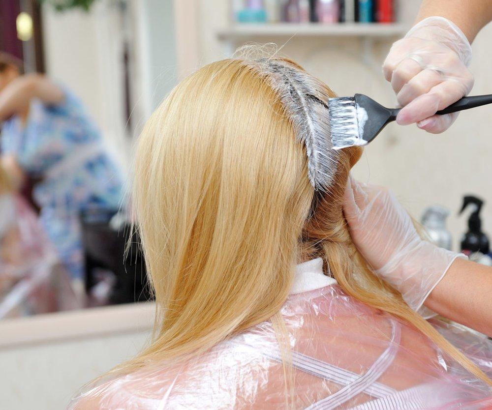 Ansatz blondieren