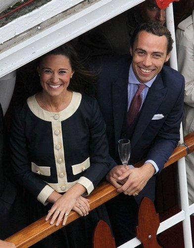 Pippa Middleton und ihr Bruder James.