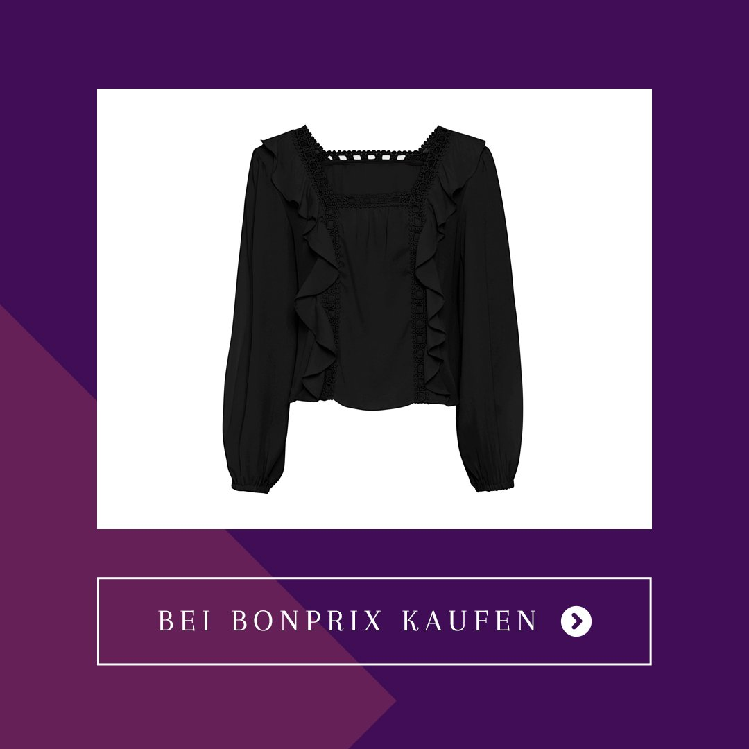 bonprix black friday bluse schwarz