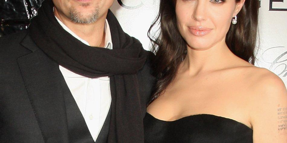 Brad Pitt und Angelina Jolie: Hat Justin Theroux sie zur Hochzeit eingeladen?