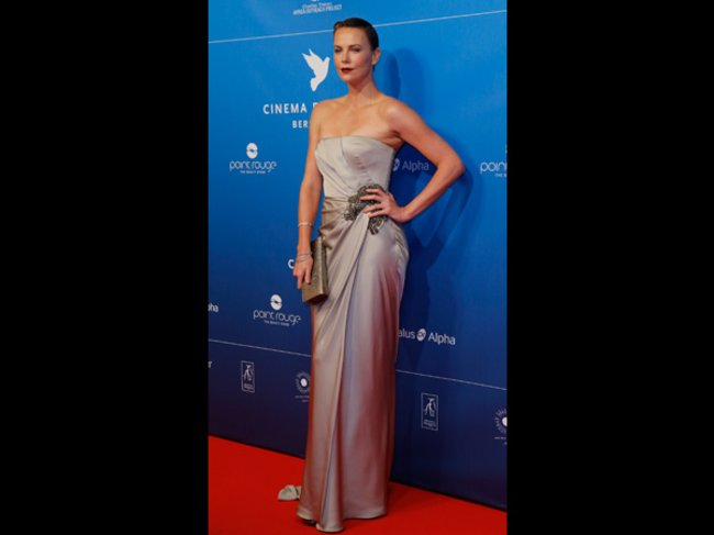 Hollywood-Diva Charlize Theron