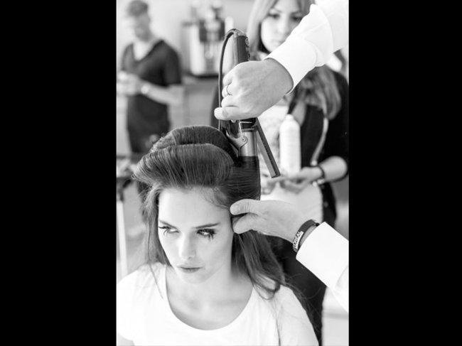 Model bei L'Oréal