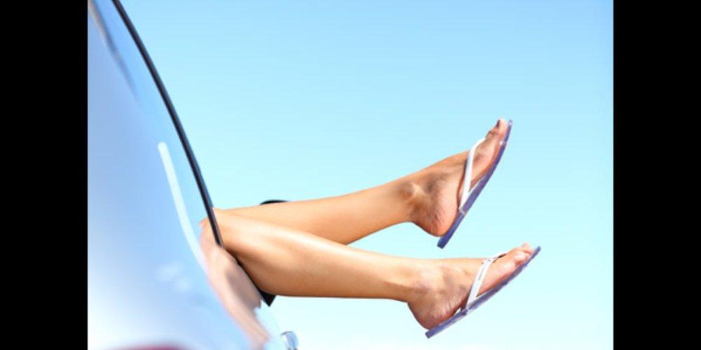 Flip Flop Füße
