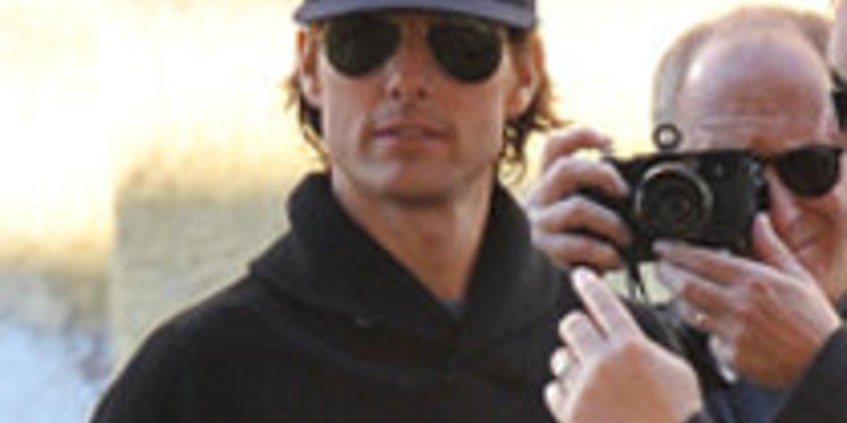 Tom Cruise: Beachtliche Bauchmuskeln