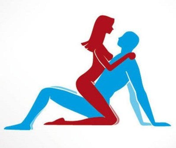 Sexstellung im Sitzen für Romantiker