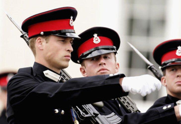 Prinz William ist beim britischen Militär