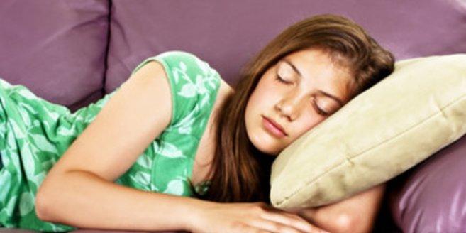 schlafender Teenager